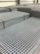 Galvanised Wire Mesh Infill Sheets Stewart Trading
